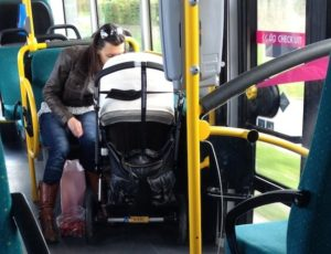 HOW TO TRAVEL OVER A TRAIN WITH YOUR NEWBORN BABY