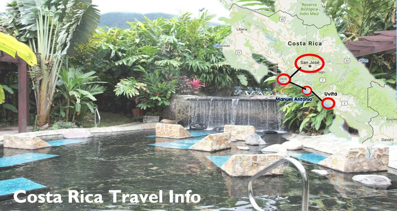 Locating Costa Rica Travel Info